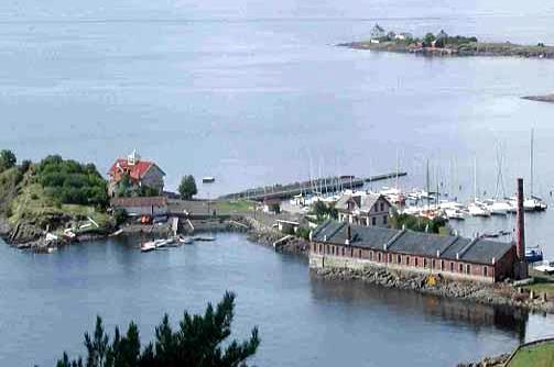 Steilene fem øyer i Oslofjorden Nesodden kommune